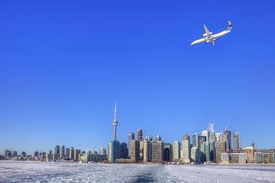 Frozen Lake Photograph - Toronto by Joana Kruse