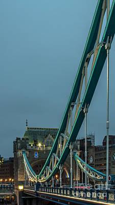 Photograph - Tower Bridge by Jorgen Norgaard