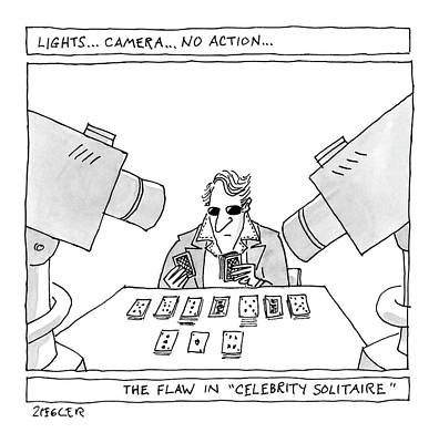 Lights...camera...no Action...the Flaw Art Print