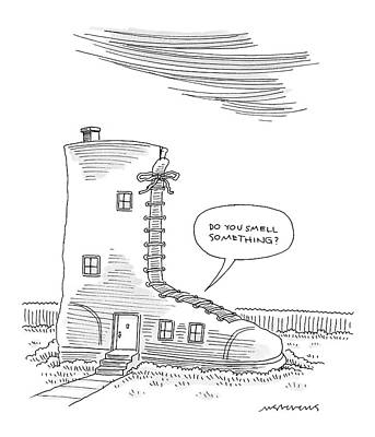 Fairy House Drawing - New Yorker May 30th, 2005 by Mick Stevens