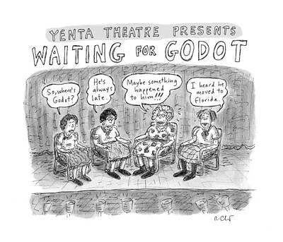 New Yorker November 28th, 2016 Art Print