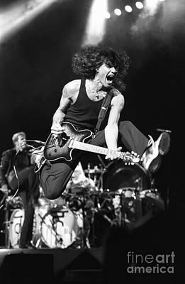 Van Halen Photograph - Van Halen - Eddie Van Halen by Concert Photos