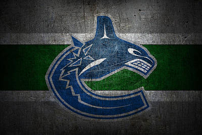 Hockey Photograph - Vancouver Canucks by Joe Hamilton