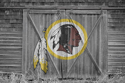 Photograph - Washington Redskins by Joe Hamilton