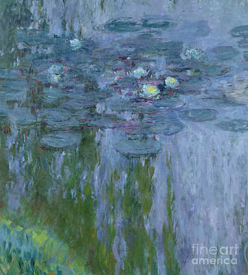 Waterlilies Art Print by Claude Monet