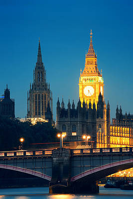 Photograph - Westminster by Songquan Deng