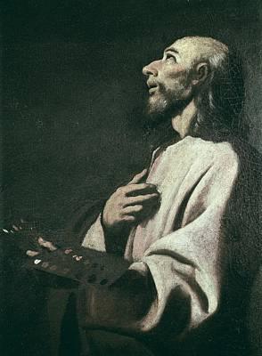 Zurbaran, Francisco De 1598-1664. Saint Art Print by Everett
