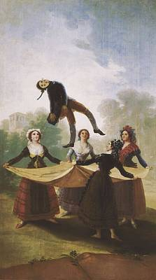 Mannikins Photograph - Goya Y Lucientes, Francisco De by Everett