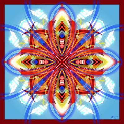 Digital Art - 1000 03 by Brian Johnson