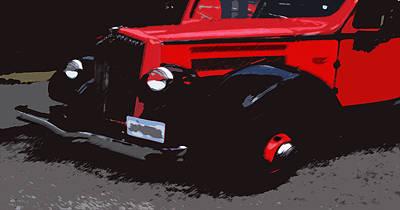 1000406008 Montana Tour Bus Art Print