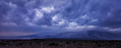 Photograph - 100318f-10 Death Valley Storm by Albert Seger