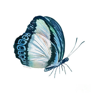 Wall Art - Painting - 101 Perched Danis Danis Butterfly by Amy Kirkpatrick