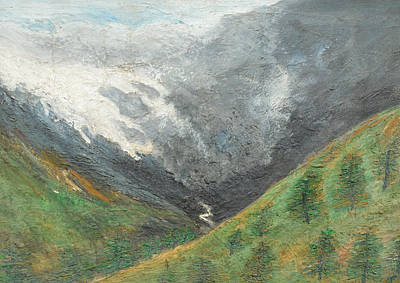 Painting - Splendors Of Himalayas by Anand Swaroop Manchiraju