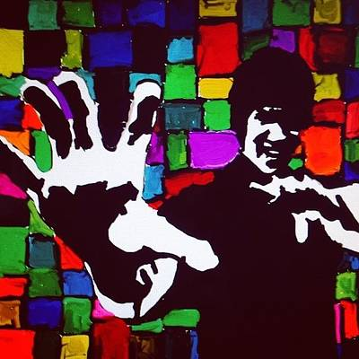 Bruce Lee Photograph - Bruce Lee  Popart by Louis Matheou