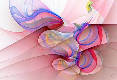 Generative Digital Art - 1026 by Lar Matre
