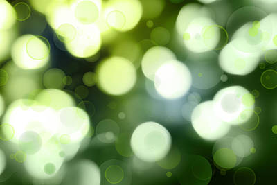 Magic Colors Photograph - Abstract Background by Les Cunliffe