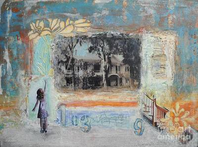 Mixed Media - 103 S. 9th Street by Michelle Davidson