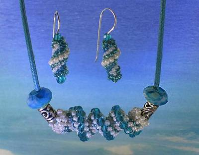 Jewelry - 1030 Water Spiral by Dianne Brooks