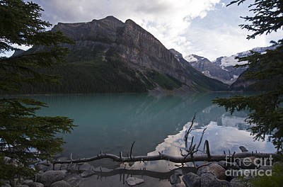 Photograph - 1033p Lake Louise Canada by NightVisions