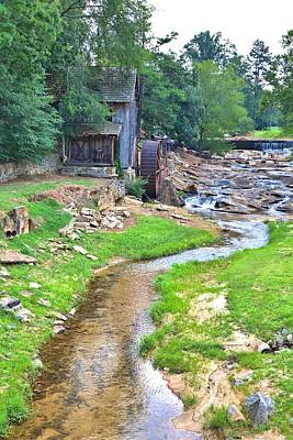 Photograph - Sixes Mill - Dukes Creek by Gordon Elwell