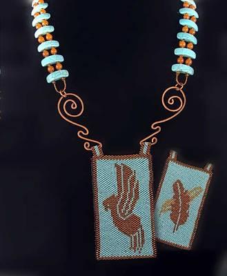 Jewelry - 1052 Rainbird by Dianne Brooks