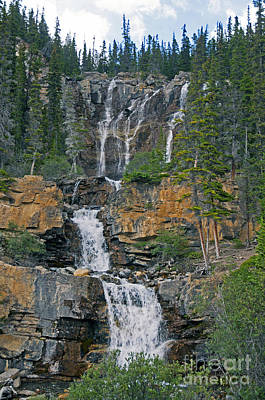 Photograph - 1052p Tangle Creek Falls Canada by Cindy Murphy - NightVisions