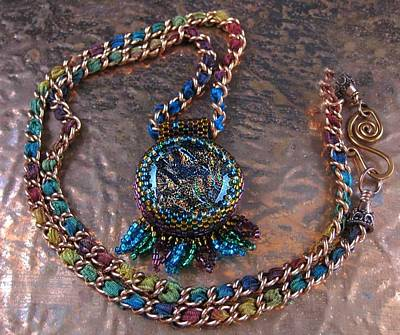 Jewelry - 1053 Tribal Campfire by Dianne Brooks