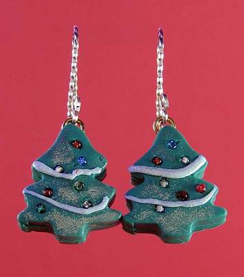 Jewelry - 1057 Christmas Tree by Dianne Brooks