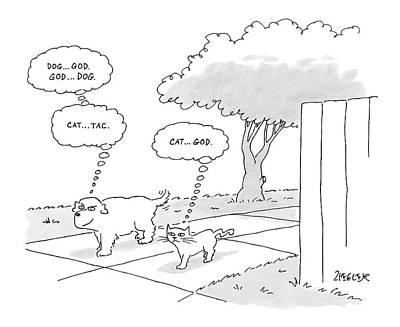 New Yorker April 3rd, 2006 Art Print by Jack Ziegler