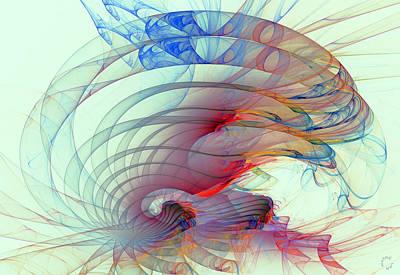 Generative Digital Art - 1062 by Lar Matre