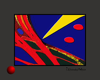 Painting - 1067 -  Weapon by Irmgard Schoendorf Welch