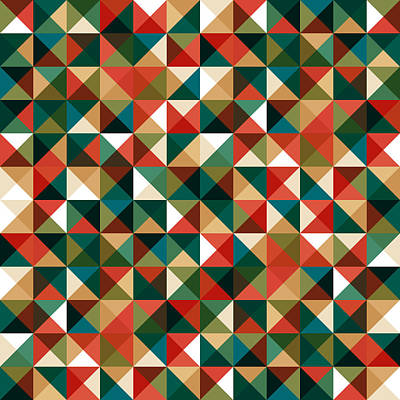Abstract Illustration Digital Art - Pixel Art by Mike Taylor