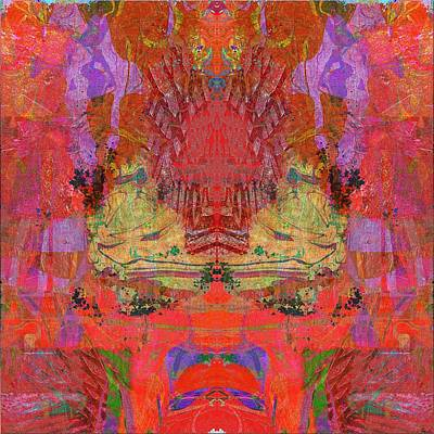 1074 Abstract Thought Art Print by Chowdary V Arikatla