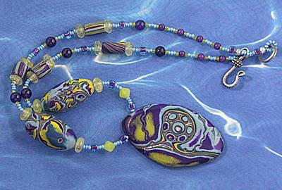 1077 Silver Moon Over Oxbow Original by Dianne Brooks