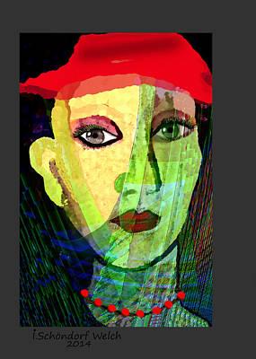 1084 - La  Signora ... Art Print