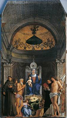 St. Francis Of Assisi Photograph - Italy, Veneto, Venice, Accademia Art by Everett