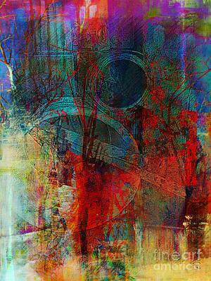 10th Dimension Art Print by Fania Simon