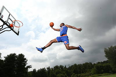 Photograph - 2014 Nba Rookie Photo Shoot by Nathaniel S. Butler