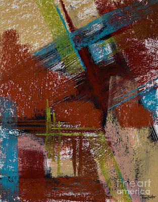 On The Diagonal Art Print by Tracy L Teeter