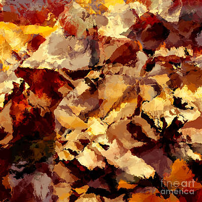 Abstract Art Print by T White