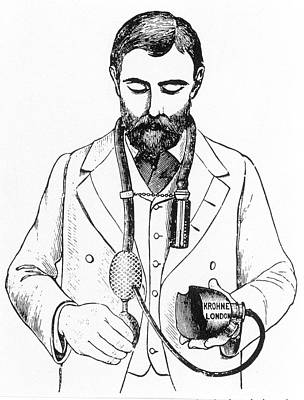1867 Photograph - Anaesthetic Inhaler by Science Photo Library