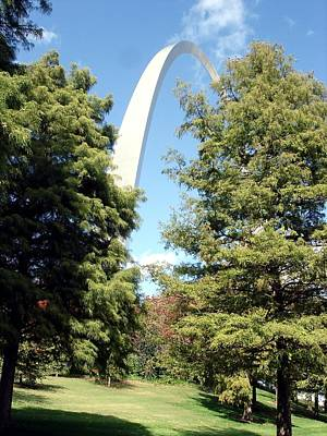 Photograph - Arch To The Sky by Kenny Glover