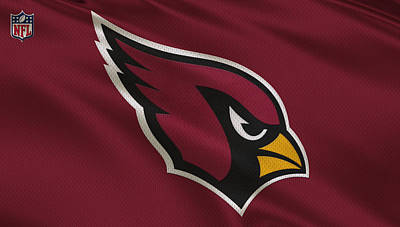 Arizona Cardinals Uniform Art Print