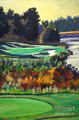 11 At Legacy Links Art Print by Frank Giordano