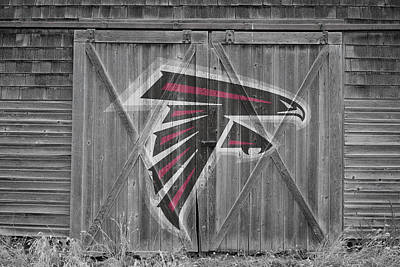 Photograph - Atlanta Falcons by Joe Hamilton