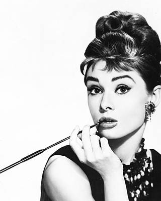 Retro Images Archive Photograph - Audrey Hepburn by Retro Images Archive