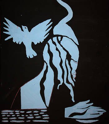 Immersion Painting - Baptism Of The Lord Jesus by Gloria Ssali