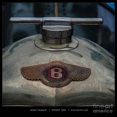 Photograph - Bentley by Jorgen Norgaard