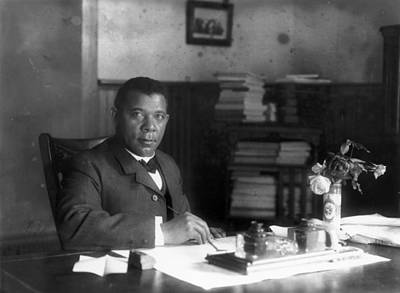 Tuskegee Institute Photograph - Booker T by Granger