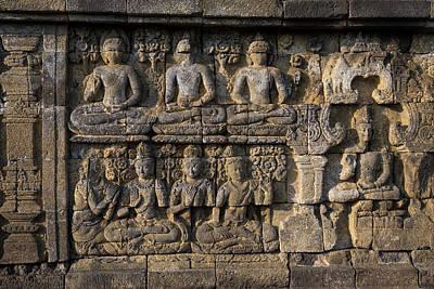 Borobudur, Java, Indonesia Art Print